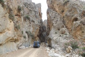 Jeep Safari Trypiti gorge and plage