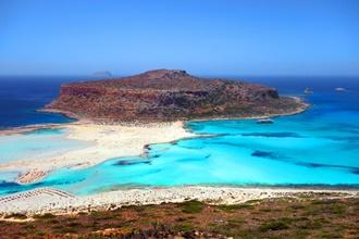 Gramvousa island Balos beach