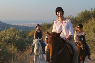 Horse riding Crete Finikia tour