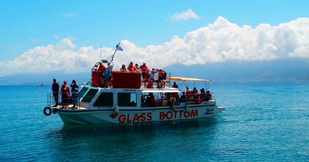 Croisière en bateau Glass Bottom