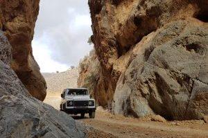 Jeep Safari Agiofarago gorge Matala Crete