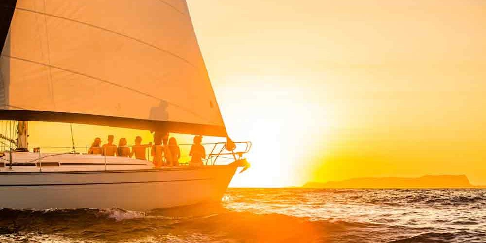 Sunset Cruise on Sailing Boat