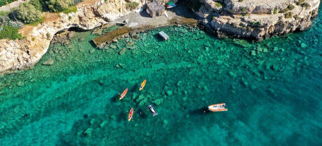 SEA KAYAK HERSONISSOS CRETE